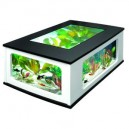 AQUATLANTIS AquaTable 130x75 noir/blanc