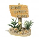 Decor Panneau Home Sweet Home pour aquarium